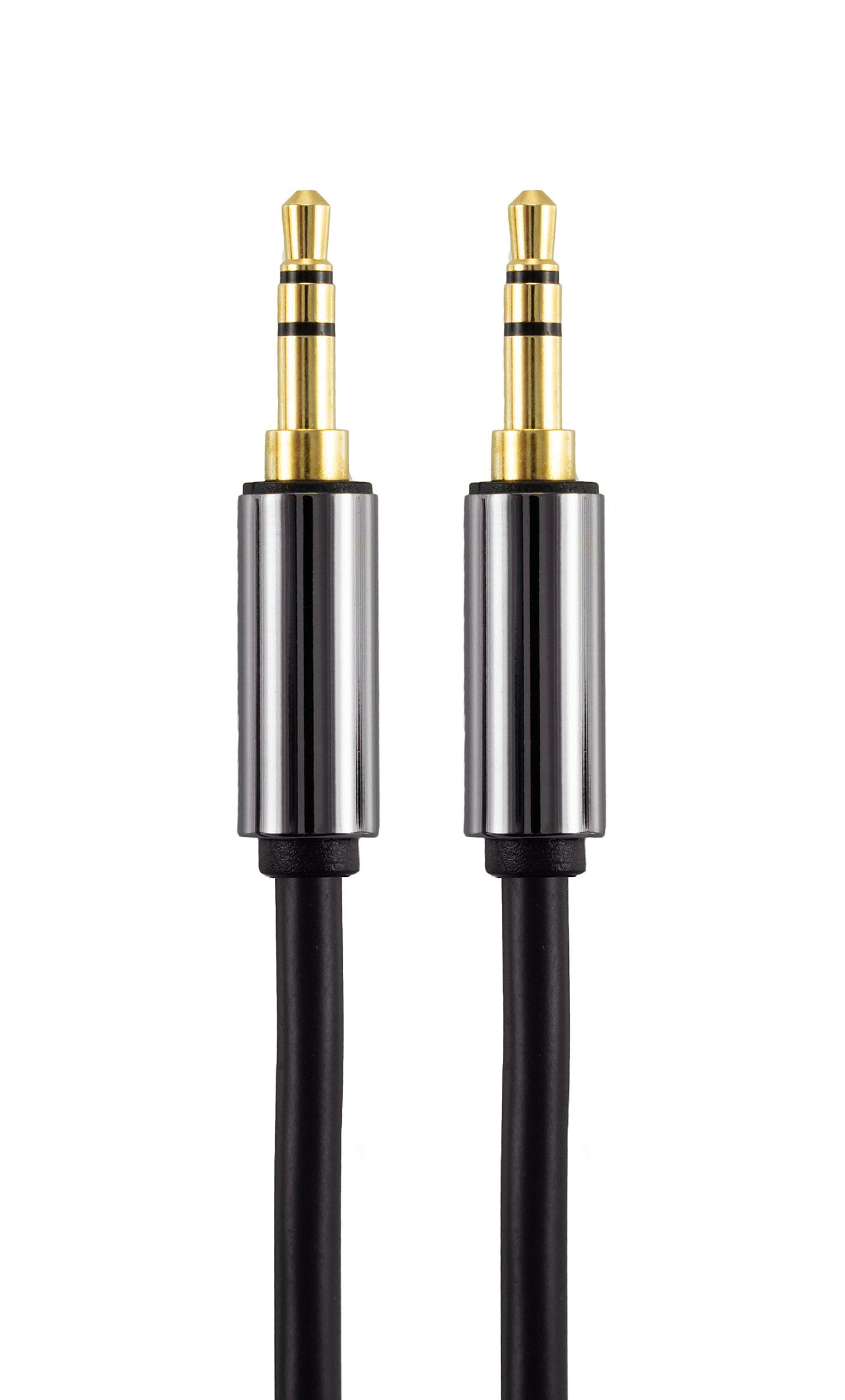 Poppstar-Klinkenkabel-vergoldete-Kontakte-Stecker-Gerade-auf-Gerade-mm