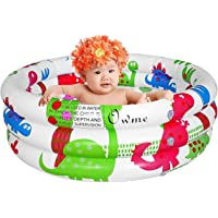 Keekos Baby Pool Bath Water Tub for Kids Bath tub for Baby 3-4 Year (3 feet) Color :- Multicolor