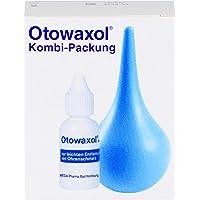 MEDA Pharma GmbH & Co.KG Otowaxol Kombi-Packung Lösung + Ohrenspritze gegen Ohrenschmalz, Lösung, 10 ml