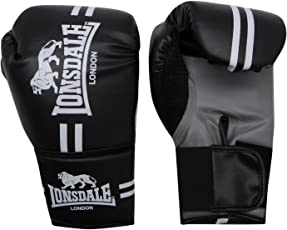 Lonsdale London Contender Boxhandschuhe Gym Fitness Tasche Sparring Handschuhe