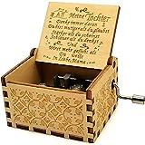 """Caja de música para madre e hija en alemán, con texto en inglés """"You Are My Sunshine"""" en caja de música para hija, madre e hi"""