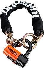 Kryptonite New York Noose 1275 Bicycle Chain Bike Lock with Evolution Series-4 Disc Lock
