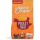 Edgard & Cooper Croquettes Chien Adulte sans Cereales Nourriture Naturelle 7kg Poulet Frais élevé en Plein air, Alimentation