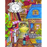 Nice Little Town 11: Adult Coloring Book (Mice adventures, stress relieving designs)