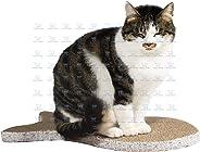 The DDS Store Cat Scratching Pad Post Scratcher Sofa Cats Kitten Cardboard Refill with Catnip