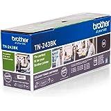 Brother TN243BK Toner Originale, Capacità Standard, fino a 1000 Pagine, per Stampanti DCP-L3550CDW, HL-L3210CW, HL-L3230CDW,