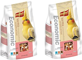 Vitapol Economic Food for Cockatiel, 1200G - Pack Of 2