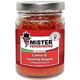 Carolina Reaper - Crema - Il peperoncino più piccante al mondo (90gr). Piccantezza estrema, dosare con molta cautela - Mister