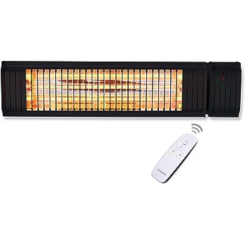 vasner appino 20 infrarot heizstrahler terrasse schwarz. Black Bedroom Furniture Sets. Home Design Ideas