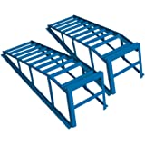 Cartrend 50156 Set Rampe di Salita per pneumatici fino a 225 mm di larghezza