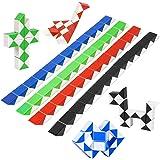 Puzzle de Magia Serpiente 8Pcs,Juguetes de Rompecabezas de Snake 24 Bloques,3D Mini Magic Speed Cube juego Twister,Cuñas Regl