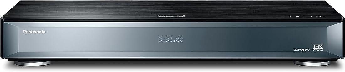 Panasonic DMP-UB900EGK Ultra HD Blu-Ray Player (4K Blu-Ray Discs, 4K VoD, HDR, THX, DLNA, VOD, 2X HDMI, Optischer/Koaxialer Ausgang, 7.1 Analog-Ausgang, USB) Schwarz