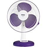 Usha Mist Air ICY 400MM 55- Watt Table Fan (Purple)