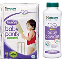 Himalaya Total Care Baby Pants Diapers, X Large(54 Count) and Powder (400g) Combo