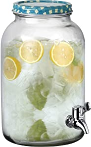 FEELINGS GLASS JUICE DISPENSER WITH TAP - 3250ml