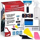 GADLANE 9pc Window Film Application Tool Kit Car Window Tint Tools Vinyl Wrapping Tinting Kit Installation Includes…