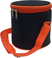Zoon Black Lunch/Tiffin Bag (Z611)