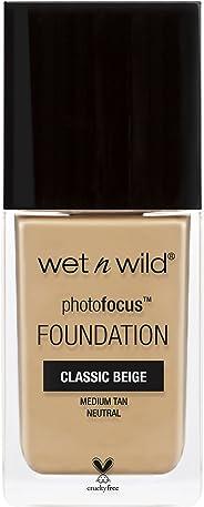 Wet 'n Wild Photo Focus Foundation, Classic Beige, 30ml