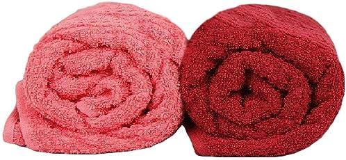 Trident Classic Aroma Rose Fragrance Bath Towels Set
