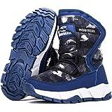 AFFINEST Chaussures de Randonn/ée pour Enfants Gar/çon Bottes de Fille Chaussures en Coton Bottes de Neige dhiver Antid/érapantes
