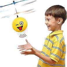 TOP Geschenk Spielzeug für 4-5 Jahre Alten Jungen, RC Flying Ball Hubschrauber Spielzeug für 3-12 Jahre alte Mädchen TGUKTGFLB02