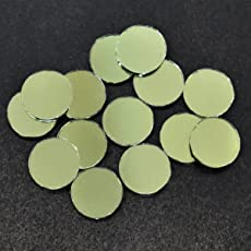 Embroiderymaterial Shisha Mirrors For Embroidery And Craft Purpose, Round Shape, 15Mm, 100 Pcs