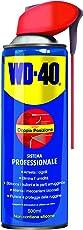 WD-40 Lubrificante Spray Multifunzione, Anticorrosivo, Idrorepellente, Sbloccante, Detergente, Sistema Professionale, Doppia posizione: Vaporizzazione Ampia e Applicazione di Precisione, 500 Ml