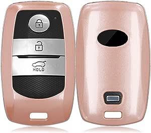 Kwmobile Autoschlüssel Hülle Kompatibel Mit Kia 3 Tasten Smartkey