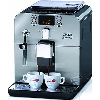 Gaggia RI9833/61 Kaffeevollautomat Brera (Dampfdüse) schwarz