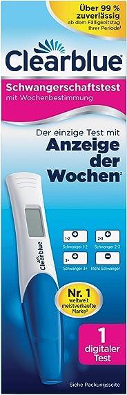 Clearblue Schwangerschaftstest mit Anzeige der Wochen, 1 digitaler Test