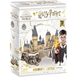 CubicFun Puzzle 3D Harry Potter Hogwarts Castillo Escuela de Brujería y Hechicería Kits de Construcción Modelo, DIY Juguetes