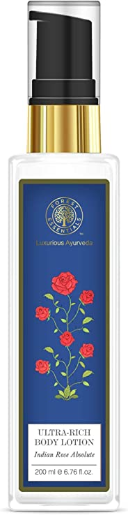 Forest Essentials Indian Rose Absolute Ultra Rich Body Lotion, 200ml