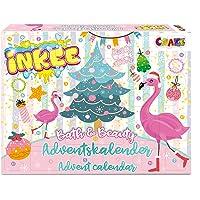 CRAZE Adventskalender INKEE Kinder Badespaß Zauberbad Weihnachtskalender 2021 mit Badebomben DIY Badekugel kreativer…