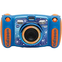 VTech Kidizoom Duo Camera 5.0 Digital Camera For Children  Electronic Toy Camera  Photos & Video For Kids Aged 3, 4, 5, 6, 7, 9 Years Old, Blue