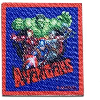 blau Aufnäher Avengers Thor Comic Bügelbild 5,8 x 5,6 cm