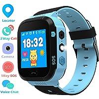 Enfants Smartwatch - GPS/LBS Position Tracker Enfant SOS Aide Montres Appareil Photo Numérique Mobile Téléphone Mobile…