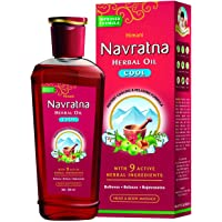 Navratna Ayurvedic cool hair oil with 9 herbal ingredients, 300ml