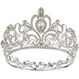 Diadema de cristal austriaco para novia, diseño de princesa