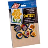Essdee SoftCut Printmaking and Carving Blocks (200 x 150 x 3.0 mm Pack of 2), PVC, Multi-Colour, 200 x 150 x 3 mm