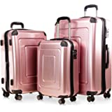 Happy Trolley Lugano Set de bagages 231 Rose
