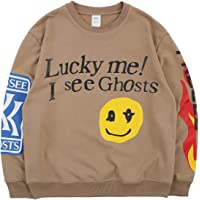 Kanye Lucky Me I See Ghosts Sweatshirt Felpe Senza Cappuccio
