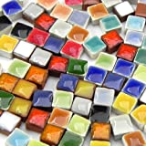 Mini Mosaïque (5x5x3mm), 1000 tesselles, Multicolore, MXAL
