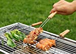 K Kudos Enterprise Premium Quality Multipurpose Barbecue Skewers for BBQ Tandoor and Grill, Stainless Steel Stick with...
