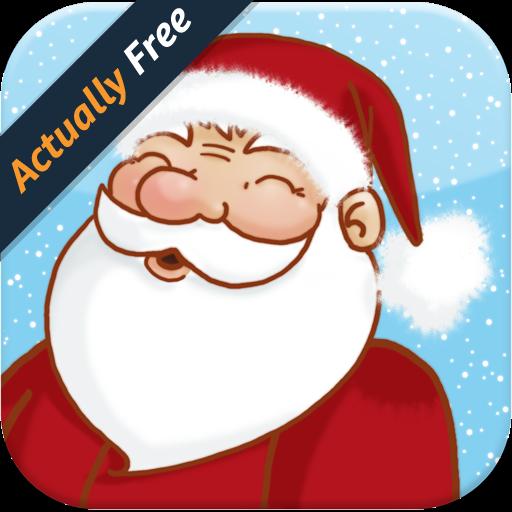 Spiel mit dem Weihnachtsmann für Kinder (Für Kinder Schnee-spiele)
