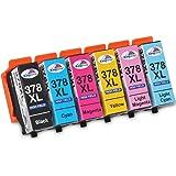 Kingway 378XL inktcartridges vervanging voor Epson 378 378XL compatibel met Epson Expression Photo XP-8500 XP-8505 XP-8600 XP