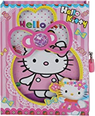 Asera Hello Kitty Diary with Lock Case for Girls Gifts options