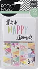 Me & My Big Ideas Pocket Pages Themed Cards 72/pkg-Journal Elements