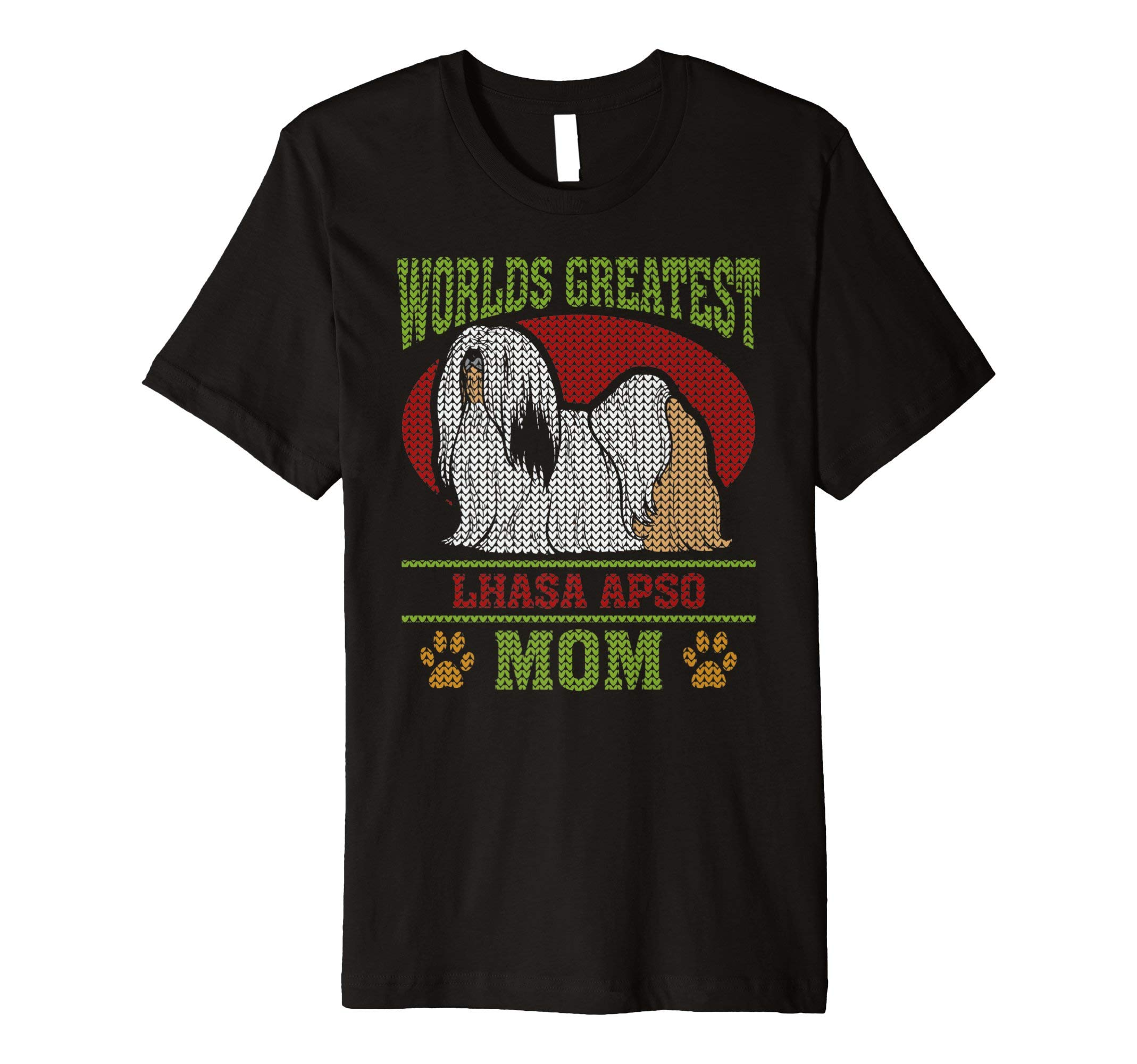 Worlds Greatest Lhasa Apso Mom T-shirt