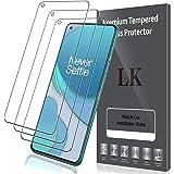 LK Compatible avec Oneplus 8T Protection écran, 3 Pièces,Verre Trempé,Dureté 9H,Protection d'écran Verre Trempe Vitre