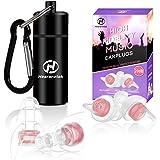 Hearprotek Musik Gehörschutz Ohrstöpsel für Frauen, 20db Women Ohrstöpsel- Filterrauschen & Erhält Tonqualität für Konzerte,